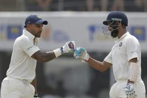 India vs Sri Lanka: Shikhar Dhawan, Cheteshwar Pujara tons light up...