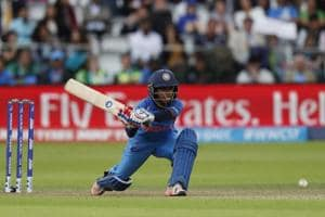 Punam Raut  top-scored for India in the Women