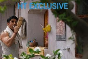 Exclusive: Farhan Akhtar in new still from Lucknow Central