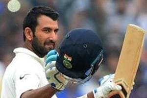 Cheteshwar Pujara hits 12th century in Galle Test between India vs Sri...