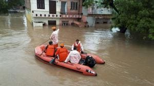 Flood situation improving slowly in Rajasthan