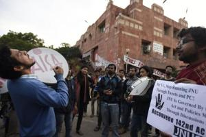 JNU students' union president refuses to pay fine, may not be allowed...