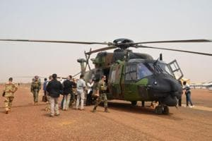 German UN helicopter with two crew members crashes in Mali