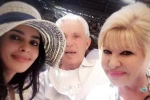 Mallika Sherawat meets Donald Trump's first wife, Ivana