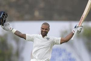 India vs Sri Lanka: Shikhar Dhawan's Galle ton reminds him of debut...