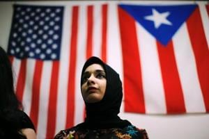 US Muslims see friendly neighbours, but a foe in White House