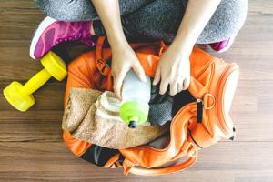 Fitness enthusiasts, take note: Here are the gym bag essentials for a...