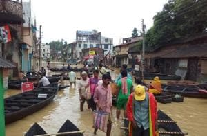 West Bengal flood: More villagers marooned; DVC releases water from...
