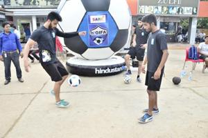 HT GIFA: Delhi NCR's young stars are getting ready for their football...