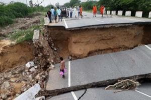 Rain relief in Rajasthan, water recedes in many areas