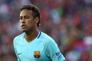 F.C. Barcelona beat Manchester United 1-0 as Neymar nets winner