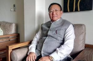 Nagaland CM Zeliang denies helping RSS push Hinduism in northeastern...