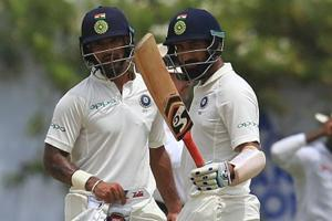 Shikhar Dhawan produced a dazzling exhibition of strokeplay to score a...