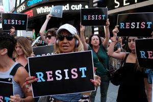 Confusion and criticism follow Trump's ban of transgender personnel in...