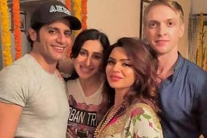 Aashka Goradia gets engaged to Brent Goble again in traditional...