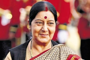 Sushma helps parents of ailing Sikh abroad get visas
