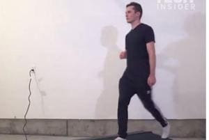 Going viral: Animator uses treadmill to create 100 different character...