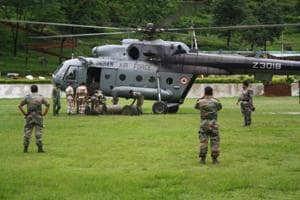 Bengal flood: Air Force to the rescue of villagers trapped in Ghatal