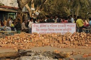 Bhangar grabbed headlines in 2016 after violent protests broke out against a power project and roads were blocked by villagers.