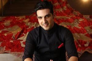 Actor Zayed Khan was in Delhi to attend his designer friend Manav Gangwani's fashion show.