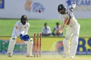 Virat Kohli slammed his 15th fifty while Abhinav Mukund scored his second fifty as India lead at stumps on day 3 was 498. Catch highlights of India vs Sri Lanka, first Test day 3 from Galle here.