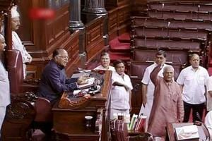 Rajya Sabha adjourns after Opposition-BJP clash on 'abduction' of Cong...