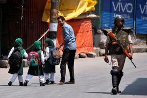 Restrictions in Srinagar areas ahead of protests