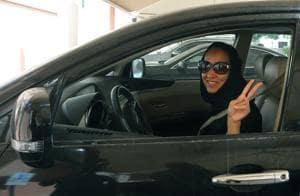Saudi activist Manal Al Sharif photographed in Dubai on October 22, 2013.
