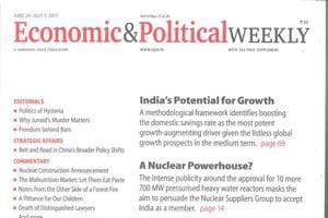 """Tracking through the EPW's intellectual journey over the past five decades is like going straight into the """"deep state"""" of India's interconnected world of academia, politics, ideologies, journalism and grassroots activism."""