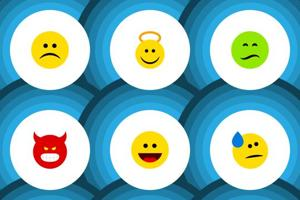 Decoding the emoji: Find out where the smileys and heart eyes come...