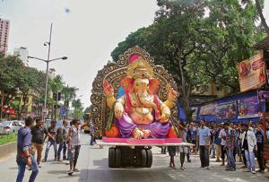 Mandals say Ganeshotsav]is a festival and a not prayer meeting, and there can't be rules and regulations for everything.