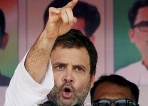 Congress vice president Rahul Gandhi accuses BJP government in Chhattisgarh of killing Dalits and tribals to be in power
