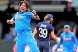 Jhulan Goswami helped India reach the final of the Women's Cricket World Cup in England.