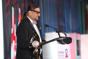 India Foundation's chair Ajit Someshwar at the organisation's awards gala this June.