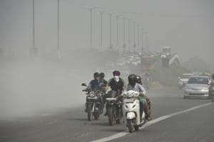 Experts said the level of particulate matter in the air rises primarily because of construction activities, road dust and waste burning.
