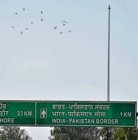 The 360-ft flag pole near the India-Pakistan border at Attari has been damaged three times so far.