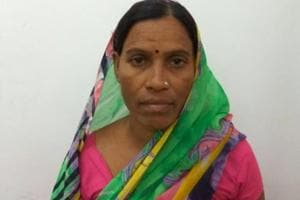 Mobai (45), police said, is a proclaimed offender with many cases of arms act registered against her.