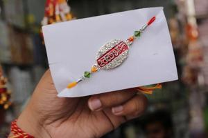 The Swachh Bharat rakhis, inspired by the Swachh Bharat Abhiyan, have both uniqueness and a good message.