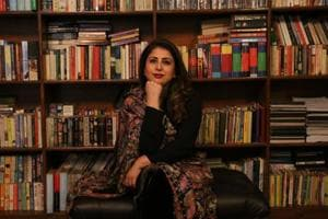 Pakistani author Faiqa Mansab.