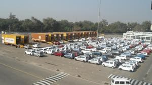 Cars  being loaded at a Maruti Suzuki India Ltd manufacturing unit in Haryana.