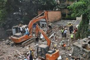Seventeen people died as the five-storey building near Shreyas cinema in Ghatkopar collapsed on July 25.