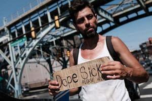 Photos:Dope sick America battles national opioid crisis