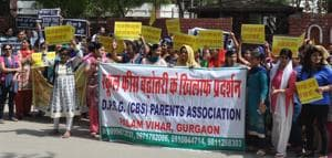 DPSG parents miffed with panel examining fee hike