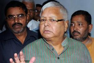 A file photo of RJD Chief and former Bihar chief minister Lalu Prasad Yadav arriving at CBI Court in Ranchi for a hearing related to the fodder scam.