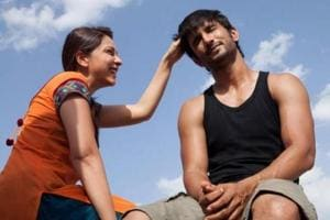 Sushant Singh Rajput and Amrita Puri in a still from Kai Po Che.
