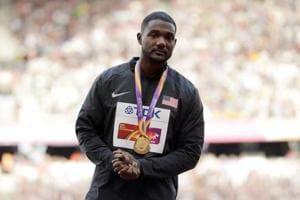 Justin Gatlin was roundly booed after he won the gold medal in the Men