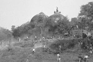 The Babri mosque was demolished in December, 1992.