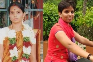 At 18, Kausalya married a Dalit man in college. At 20, a year after her husband was hacked to death by her family members, her hair is cropped short as she roars into office on a motorcycle.