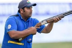 Sheeraz Sheikh finished fourth as the Indian team won the bronze in men's skeet at the Asian Shotgun Championship.