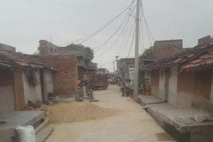 A view of Kekri village in Ajmer where the incident took place.